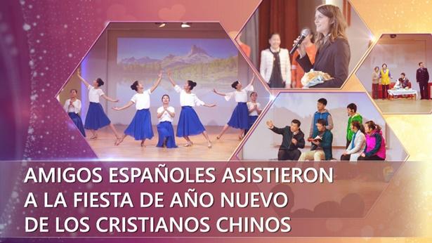 Amigos españoles asistieron a la fiesta de Año Nuevo de los cristianos chinos