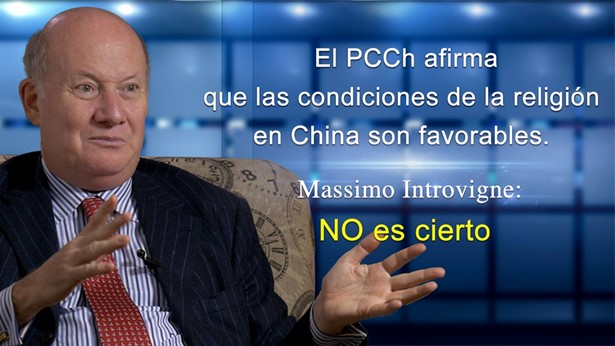El PCCh afirma que condiciones de religión en China son favorables. Massimo Introvigne: NO es cierto